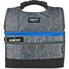 Igloo Maxcold Pinza 16 puede Lunch Box-Gris