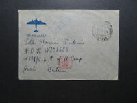 Italy 1944 Censor Cover to UK POW Camp (I) - Z11467