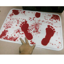 Blood Bath Bathroom Floor Mat Horror Zombie Gothic Punk Rockabilly Splatter 440