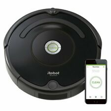 iRobot Roomba 675 Vacuum Robot WiFi Iphone/Alexa Control Used/Cleaned/Tested 01