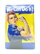 Blechschild We can do it ! Metall Schild 30 cm,Nostalgie Metal Shield
