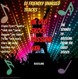 BASSLINE DJ FRIENDLY OVER 2000 TRACKS UNMIXED PERFECT FOR DJS ON A 32GB USB