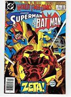 World's Finest Comics #298 Canadian Newsstand Price Variant Rare 1983