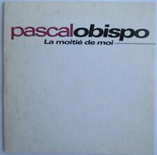"PASCAL OBISPO - CD SINGLE PROMO ""LA MOITIÉ DE MOI"""
