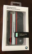 BMW Original Logo Hard Case For Iphone 6 & 6S Red & White Color- New In Box