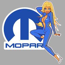 MOPAR right Pin Up gauche Sticker