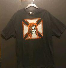 New listing Vintage Wwe Triple H T-shirt Men's size Xl Wrestlemania 21 Pre-owned Black.
