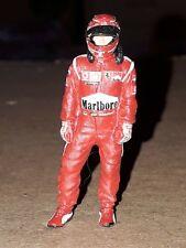 Michael Schumacher Ferrari 248 F1 2006 TABAC pilot Mini DRIVER FIGURE 1:43 METAL