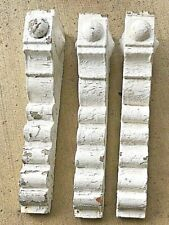 3 ANTIQUE VICTORIAN CORBELS WOOD PRIMITIVE SHABBY CHIC ARCHITECTURAL - 1890's