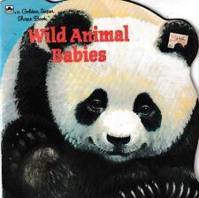 Golden Super Shape Book: Wild Animal Babies - Panda Bear Cover
