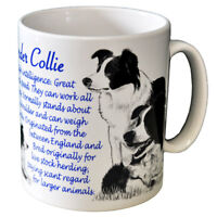 Border Collie - Ceramic Coffee Mug - Dog Origins Breed