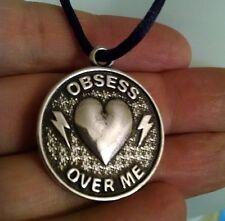 "OBSESS OVER ME ""LOVE"" PENDANT - FREE CORD SECRET INSTRUCTIONS occult spells"