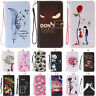 For Samsung Galaxy Lanyard Flip Stand Slot Wallet Leather+TPU Hybrid Case Cover