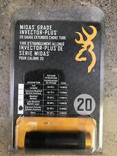 Browning Midas Grade Extended Choke Tubes, Improved Cylinder 20 Gauge 1130683
