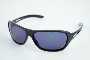 Highside REVO RE4040-02 Polished Black/Polarized Blue Sunglasses 61-13 125