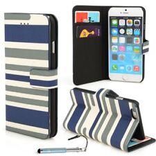 Fundas y carcasas Para iPhone 6s color principal azul piel sintética para teléfonos móviles y PDAs