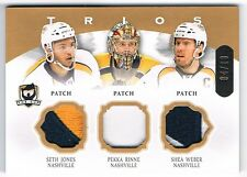 2013-14 THE CUP TRIOS PATCH #C3-NASH SETH JONES PEKKA RINNE SHEA WEBER 04/10