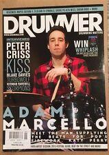 Drummer Magazine Adam Marcello Peter Criss Reviews June 2015 FREE SHIPPING!
