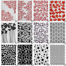 Various Modern Plastic Embossing Folders for DIY Card Making Decoration Supplies