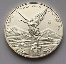 2003 BEAUTIFUL SILVER MEXICAN LIBERTAD 1 ONZA PLATA PURA 1 OZ .999 SILVER COIN