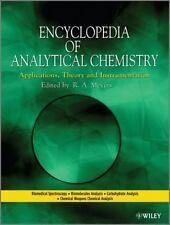 Encyclopedia of Analytical Chemistry Set by Robert A. Meyers (2012, Hardcover)