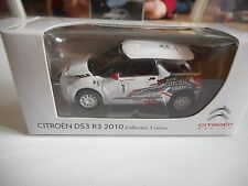Norev Citroen DS3 R3 2010 in White on 1:64 in Box