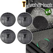 X4 FOR BMW & MINI Car Mat Clips / Fixings / Fastener Floor T Lock Carpet 9166609