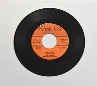 "The Charts Deserie/Zoop, 45 RPM 7"" single Doo Wop vinyl on Everlast label"