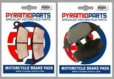 Front & Rear Brake Pads for Yamaha YZF-R 125 08-13
