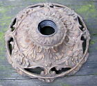 Rusty Old Cast Iron Floor Lamp Base/ Parts Use Lamp Repair Restoration Repurpose