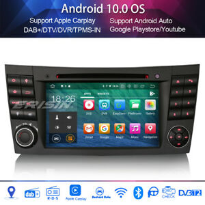 Dab + radio for mercedes benz CLS/G/E CLASS w211 w219 4 G + wifi Android 10.0 CD