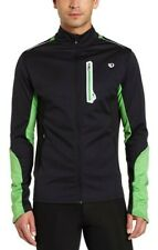 NWT Pearl Izumi Men's Select AmFib Soft shell Jacket Cycling Black Green Size M