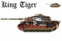 Framed Print - King Tiger World War II German Tank (Picture Poster Art History)