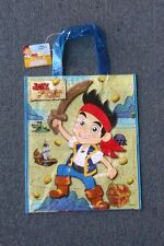 U0914166 Disney's Jake Never Land Pirates Birthday Party Favor Tote Bag 10 PACK!