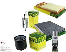 MANN-FILTER Paket + Presto Klima-Reiniger für VW Lupo 6X1 6E1 Polo 6N2 6N1