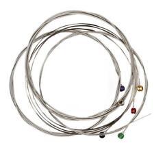 6Pc/Set Nickel Plated Steel Regular Slinky Wound Electric Guitar Strings 10-46''