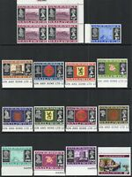 1969 Guernsey Sg 13/28 Definitive Set Mounted Mint Set of 12 Values
