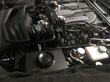 C7 Corvette Z06 2015+ Aluminum Intercooler Expansion Tank - Wrinkle Black