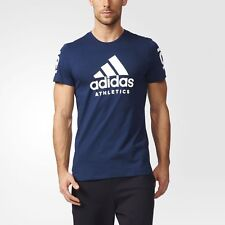 Mens Adidas Athletics 360 Tee - NAVY - Size XL - BRAND NEW - $30 MSRP FREE SHIP