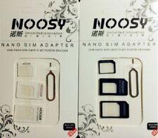 2 x SIM Card Adapter Tray Holder Nano to Micro to Regular Full Standard iPhone