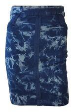 BCBG Max Azria Blue Acid Wash Mini Skirt (XS)