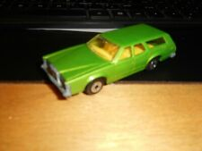 Matchbox Lesney Superfast No 74 Green Cougar Villager 1978 England