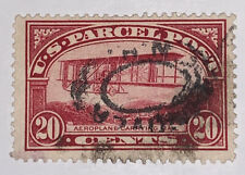 Travelstamps:1912-13 US Stamps Scott # Q8 Airplane 20 Cent Used NG PARCEL POST