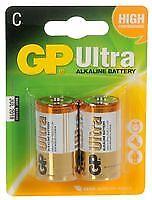 Batería Baterías Alcalinas C 2PK Ultra no recargables-CM84565