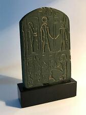 Stèle votive de Tchia /  Egypte Ramsès II / Résine Moulage Musée du Louvre