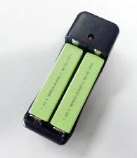 2✕1100mAh Gumstick Battery & Charger For Sony Walkman Panasonic Aiwa CD MD Tape