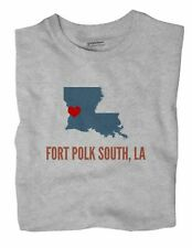 Fort Polk South Louisiana LA T-Shirt HEART
