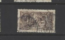 SG 399 2/6d Deep Sepia Brown used