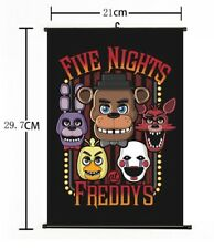"""Hot Anime Five Nights at Freddy's Game Home Decor Poster Wall Scroll 8""""x12"""" 01"""