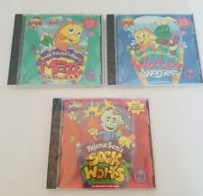 Freddie Fish, Pajama Sam's, Three Game Bundle. New!!